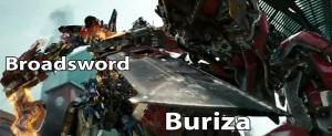 Buriza and Broadsword